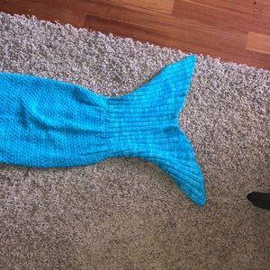Accessories - mermaid tale inspired blanket